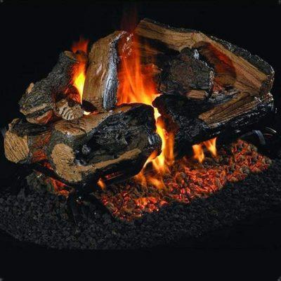 Peterson Real Fyre 18-Inch Rugged Split Oak Gas Log Set