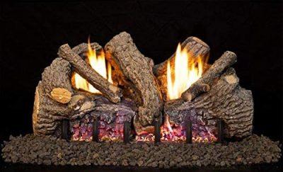 Peterson Real Fyre 30-Inch Foothill Oak Gas Log Set