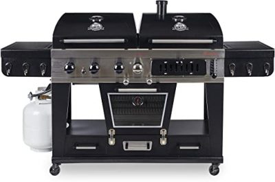 Pit Boss Memphis Ultimate Gas, Charcoal Combo