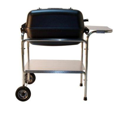 Portable Kitchen Cast Aluminum Charcoal Grill