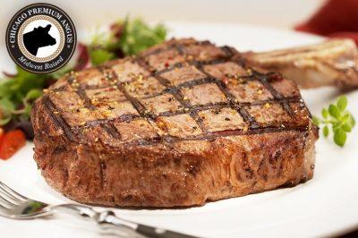 Premium Angus Beef Bone-In Ribeyes by Chicago Steak Company