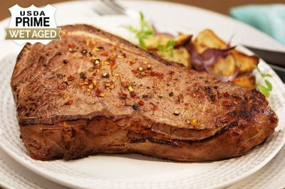 Premium Angus Beef Bone-In Strip by Chicago Steak Company