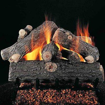 Rasmussen 18-Inch Prestige Oak Gas Log Set