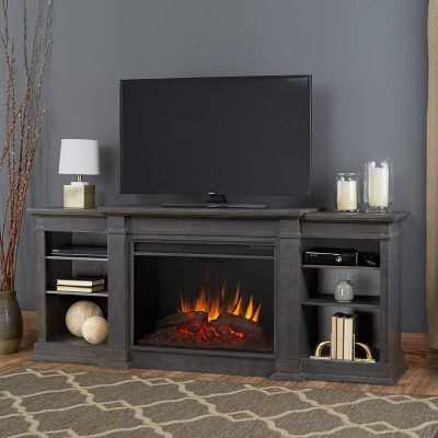 Real Flame Eliot Grand Electric Fireplace Entertainment Center