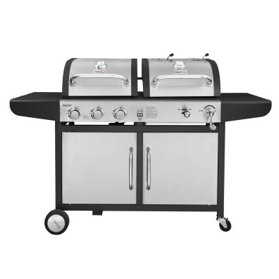 Royal Gourmet ZH3002-S 3-Burner Gas Charcoal Grill Combo