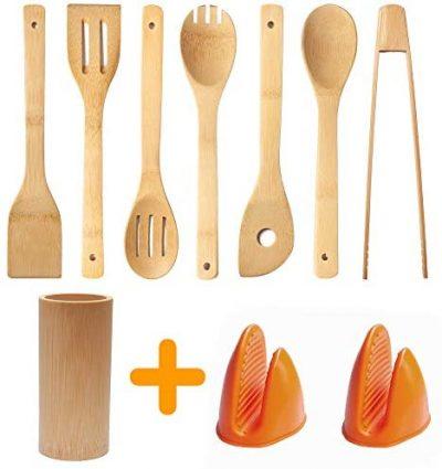 Sausalito Bamboo Utensil Set