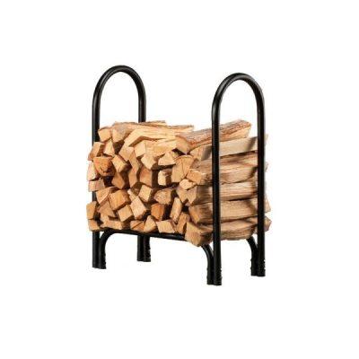 Shelter Firewood Storage Log Rack