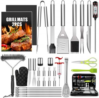 Taimasi 34-Piece Grill Accessories Tools Set