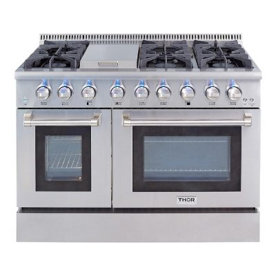 Thor Kitchen Griddle Gas Range