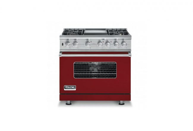 Viking Professional 7 Series Apple Red