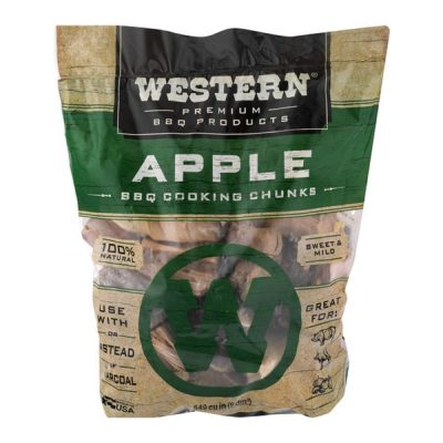 Western Apple BBQ Cooking Chunks