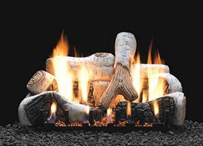 White Mountain Hearth by Empire 24-Inch Birch Gas Log Set