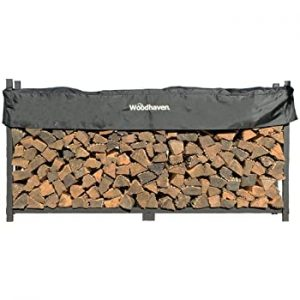 Woodhaven 5-Foot Firewood Log Rack